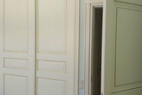 Carpinterías Mixtas en Murcia. Armarios y puertas en madera lacada, aluminio y PVC